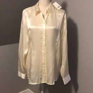 BR silk blouse